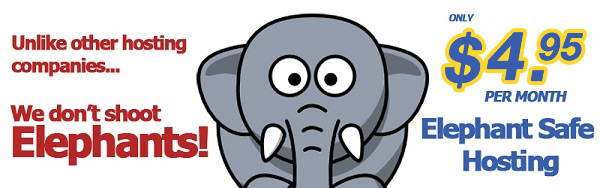 HostGator Loves Elephants